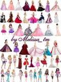 клипарт - Barbie Dolls