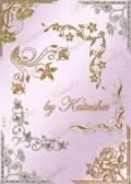 Золотые цветочные уголки