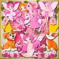 Детский клипарт - Розовые феи