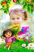 Детская рамка - Даша путешественница и Башмачок