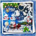 Новогодний клипарт -  Снег искрящийся и новогодняя сказка