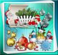 Клипарт - Нарядные и яркие предметы – Нового года приметы