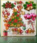 Клипарт - Яркие краски мечта зажгла и елка новогодняя ожила
