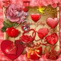 Клипарт - Сердечко твоё в ожиданьи любви
