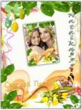 Фоторамка - Пасха, весенний праздник