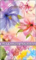Красочные цветочные фоны в векторе / Colourful flower backgrounds in vector