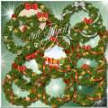 Рождественские венки - Клипарт