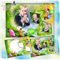 Детская рамка для фотошопа – Мои друзья Фиксики