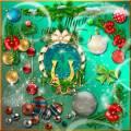 Клипарт - Новогоднего убранства предметы хранят волшебные секреты