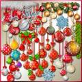 Новогодние шары – сказки мир и мир мечты - Клипарт