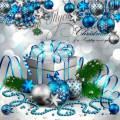 PSD исходник - Новогодние украшения - 3