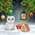 PSD исходник - Новый год нам дарит волшебство 18