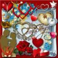Клипарт - Влюблённое сердце о многом расскажет
