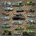 Клипарт - Военная техника