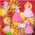 Клипарт для детей - Принцесса и Солнце / Clip Art for children - Princess and the Sun