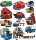 Big transport - Vector Stock