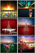 Новогодние фоны. Часть 9 / Christmas backgrounds. Part 9