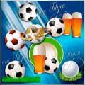 Клипарт  - Футбольный мяч / Clip Art  - Football ball