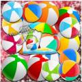 Разноцветный мяч - Клипарт