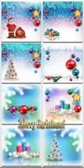 Новогодние фоны-Новогодние композиции.3 часть/Christmas backgrounds-Christmas composition.Part 3