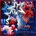Клипарт - Символика США к Национальному празднику