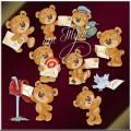 Мишки Тедди работают на почте. 3 часть - Детский клипарт