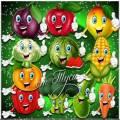 Весёлые овощи - Клипарт