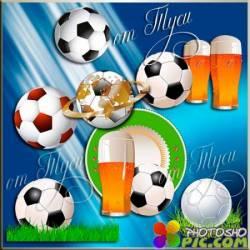 Клипарт  - Футбольный мяч