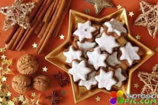 Новогоднее угощение – сладкий клипарт