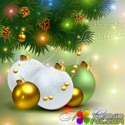 PSD исходник - Новый год нам дарит волшебство 11