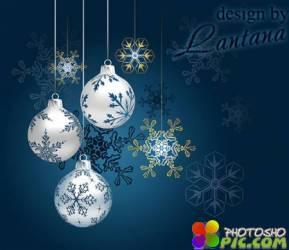 PSD исходник - Новый год нам дарит волшебство 12
