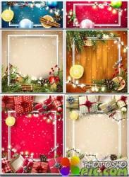 Новогодние фоны. Часть 10 / Christmas backgrounds. Part 10