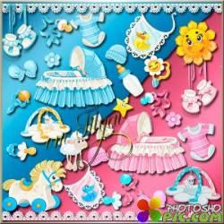 Детский клипарт - Для младенцев / Children's clipart - For infants