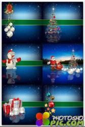 Новогодние фоны-Новогодние композиции.11 часть/Christmas backgrounds-Christmas composition.Part 11