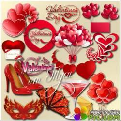 Влюблённое сердечко- Клипарт