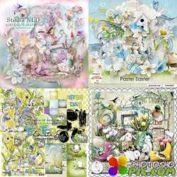 Scrap set - Pastel Easter / Eggs'tra Cute Easter / Easter Day / Spring Festivities