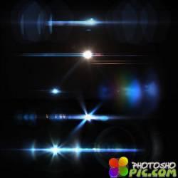 Цветные огни - Клипарт / Coloured lights - Clipart
