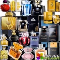 Растровые клип-арты - Дорогие парфюмы