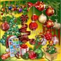 Клипарт - Новогодний образ блистательный – долгожданный и очаровательный