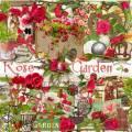 Скрап набор - Розовый сад