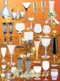 Клипарт - Хрупкие стеклянные бокалы