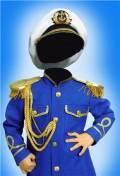 Шаблон для фотошопа мальчикам - Адмирал