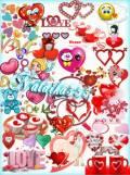 Клипарт - Моё сердце переполняют чувства
