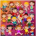 Клипарт - Дети хотят мир познавать