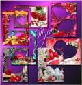 Set of frames - For lovers / Набор рамок для влюблённых