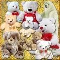 Clip Art - Soft Toys - Good Bears / Клипарт - Медвежата