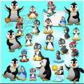 Пингвины - Детский клипарт