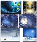 Новогодние фоны. Часть 6 / Christmas backgrounds. Part 6