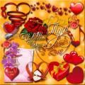 Клипарт - Мелодия любви / Clipart - Melody of Love