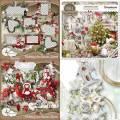 Scrap set - Silent Christmas / Strawberries christmas Joy / Waiting Santa Claus